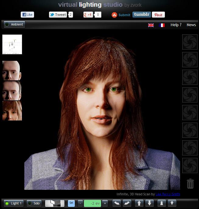 Magnificent Virtual Lighting Studio Interactive Portrait Lighting Wiring 101 Kwecapipaaccommodationcom